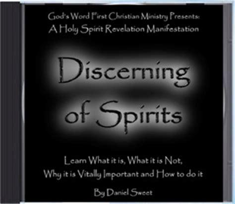 discerning  spirits holy spirit gift manifestation