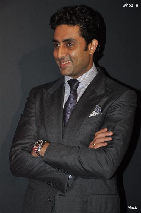 abhishek bachchan smiley face  black suit hd images