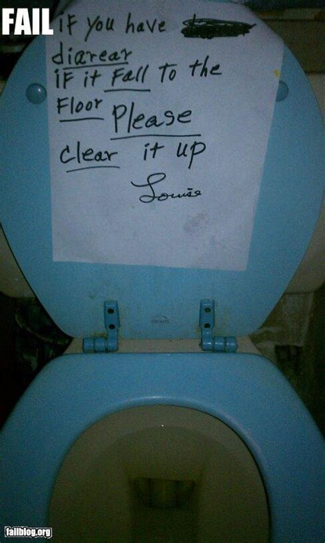 bathroom sign fail randomoverload
