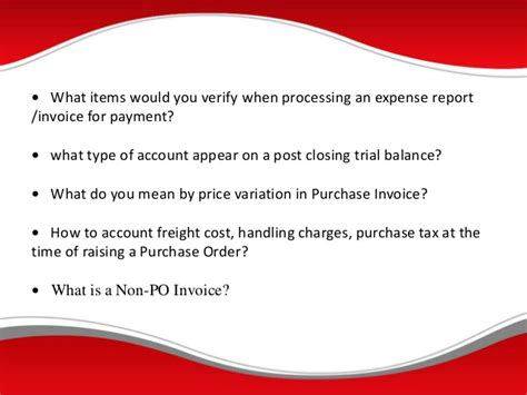 Accounts Payable Questions And Answers For by Questions And Answers For Accounts Payable