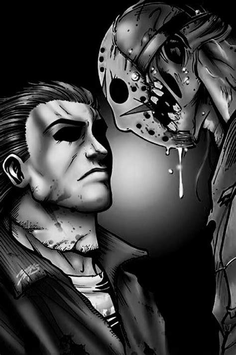 Jason & Mike Myers | Jason vs michael, Michael myers vs