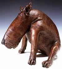Bronze Dogs By Roberta Laidman