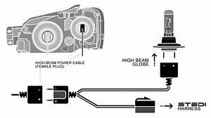 Mitsubishi Triton Headlight Wiring Diagram