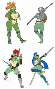 What Would You Name These Lady Turtles Would You Ninja