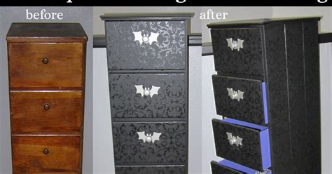 Black-on-black Chest Of Drawers