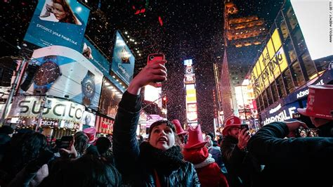times square  years eve celebration   numbers