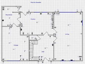 attrayant logiciel plan electrique maison gratuit 6 With schema installation electrique d une maison