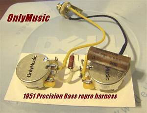 Compatible With Fender 1951 Precision Bass Repro Vintage