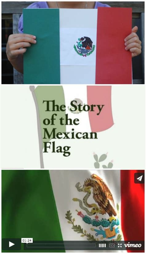 The Story of the Mexican Flag | Mexican flags ...