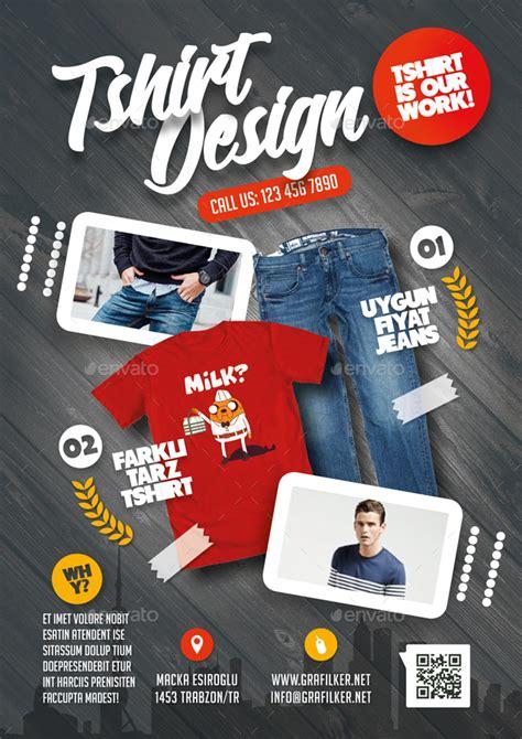 shirt flyer bundle templates  grafilker graphicriver