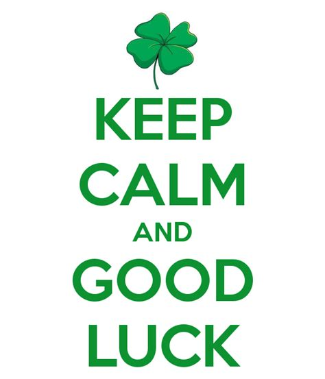 Good Luck Pictures, Images, Photos