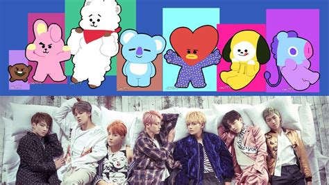 Bt21 Characters Look Exactly Like Bts {here Are Proof