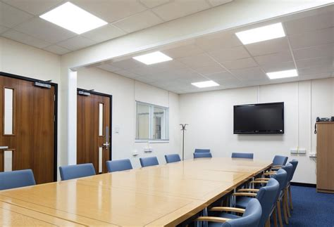 led lighting for boardrooms meeting rooms conference