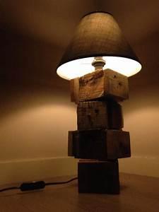 Lampe De Chevet Bois : eclairages ~ Teatrodelosmanantiales.com Idées de Décoration