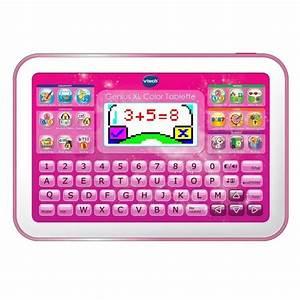 Tablette Voiture Enfant : vtech genius xl color tablette rose achat vente tablette enfant cdiscount ~ Teatrodelosmanantiales.com Idées de Décoration
