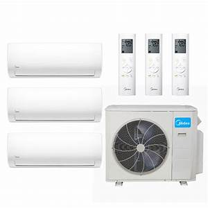 Manual And Guide For Midea 36000 Btu 21 4 Seer Ductless