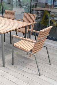 Fauteuil Bois Exterieur : petit fauteuil ext rieur de terrasse axis en m tal acier de couleur et bois massif seanroyale ~ Melissatoandfro.com Idées de Décoration