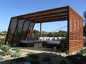 Garten überdachung Holz : moderne pergola ber 70 modelle zum erstaunen ~ Articles-book.com Haus und Dekorationen