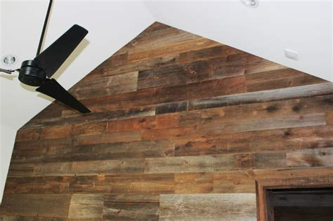 reclaimed barn wood walls reclaimed barn wood walls contemporary dining room