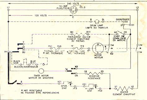 wiring diagram  whirlpool dryer  schematic