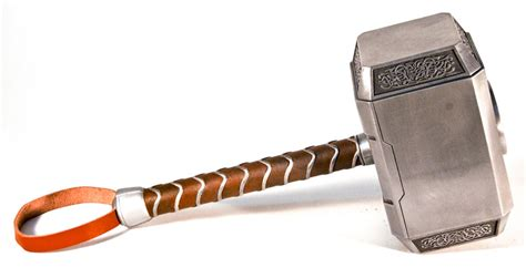 thor hammer mjolnir avengers version by pannaus on