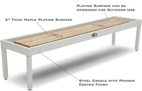 used outdoor shuffleboard table metro shuffleboard shuffleboard tables pinterest