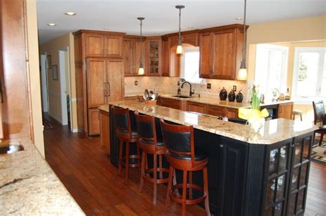 big kitchens with islands a big island traditional kitchen philadelphia by