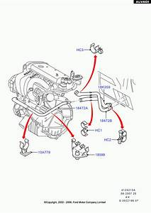 2001 Ford Escape Radiator Hose Diagram