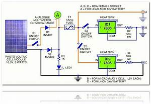 This Is The Circuit Diagram Of Rechargable Battery Charger