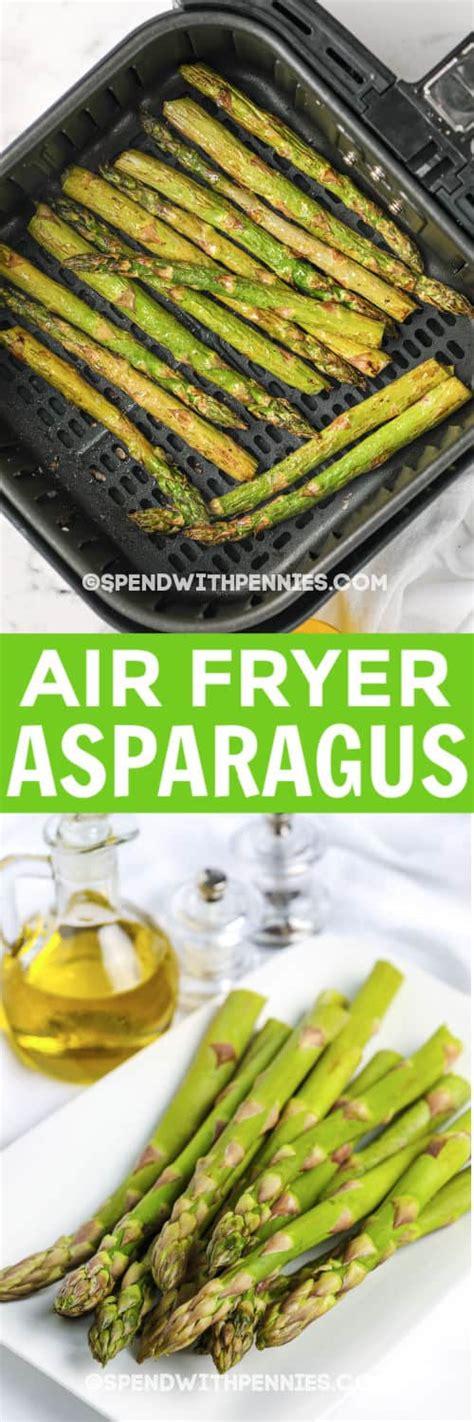 air fryer asparagus quick easy minutes