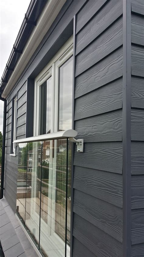 Shiplap Wood Cladding by Fibre Cement Cedral Weatherboard External Cladding Is The