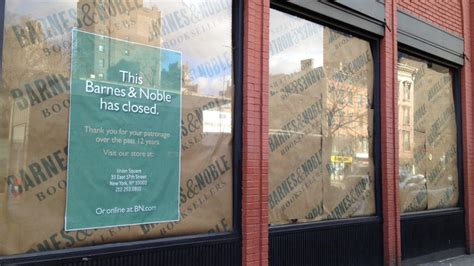 Barnes & Noble Could Close More New York City Stores