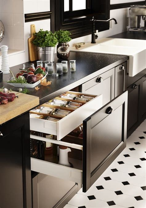 ikea kitchen drawers ikea s new modular kitchen sektion makes custom