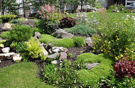 stunning rock garden design ideas corner