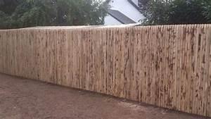 Piquet En Bois Pour Cloture : mp espaces verts cl tures et portails ~ Farleysfitness.com Idées de Décoration