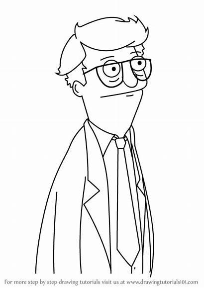 Burgers Mort Bob Draw Bobs Step Drawing