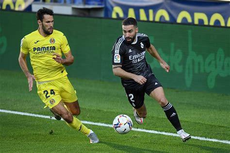 Villarreal 1-1 Real Madrid: Los Blancos Player Ratings as ...