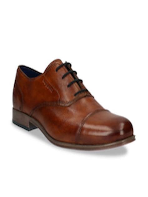 Bugatti shoes india is a brand that crafts exemplary shoes for men. Buy Bugatti Men Brown Solid Leather Formal Oxfords - Formal Shoes for Men 11574476 | Myntra