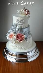 Best 25 Wedding Anniversary Cakes Ideas On Pinterest