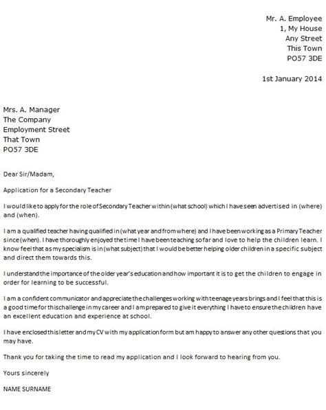 cover letter primary school teacher how to write an