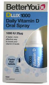 Dlux 1000 Daily Vitamin D Oral Spray 15 Ml