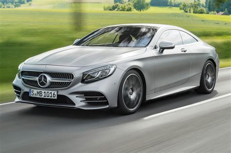 Updated Mercedes Sclass Coupe And Cabrio For 2018 Car