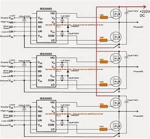 Solar Panel Inverter Circuit Diagram
