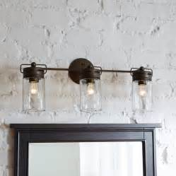 Allen And Roth Bathroom Vanities by Mason Jar Vanity Light