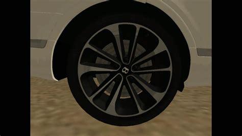 Bentley Bentayga Modification by Gta San Andreas Bentley Bentayga 2016 Mod Gtainside
