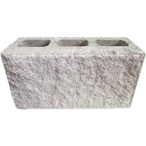 decorative cinder blocks home depot 16 in x 8 in x 6 in concrete block 068h0010100100 the