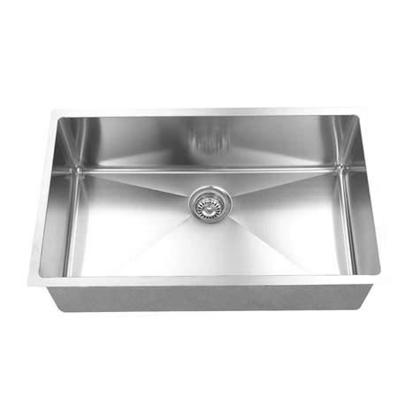 16 stainless steel undermount kitchen sinks boann made 16 r15 undermount 304 stainless 9682