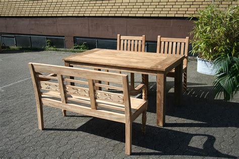 Teak Tisch Gartentisch Esstisch Teakholz Teakmöbel