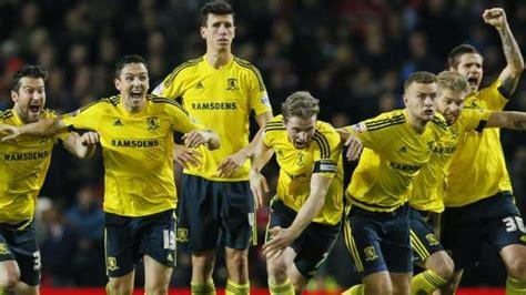 Middlesbrough win over Man Utd 'lucky' - Louis Van Gaal ...