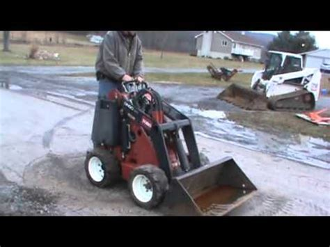 toro dingo  rubber tired mini skid steer loader  speed  sale mark supply  youtube